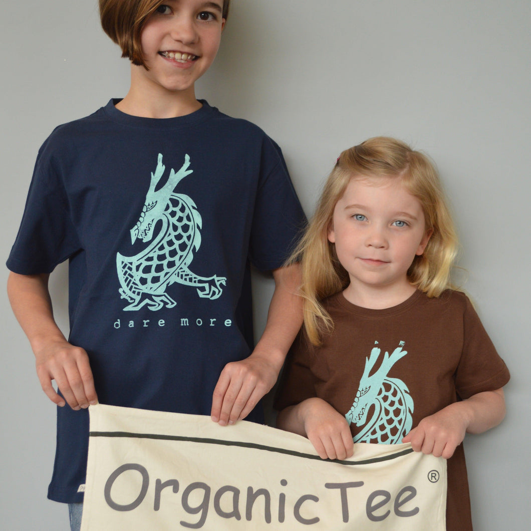 DARE MORE Organic T-shirt for Kids Uni-T