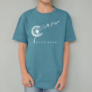 Dandelion T-shirt for Kids - Wish More Uni-T