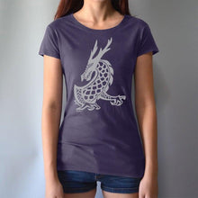 Dragon Shirt for Women | Bamboo & Organic T-shirt | Graphic Tee - Uni-...