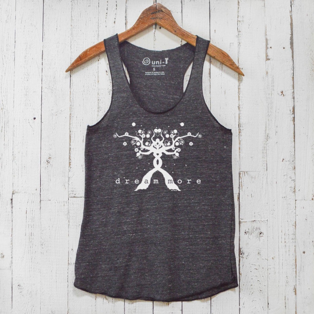 Dream More Racerback Tank Top