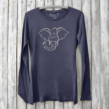ELEPHANT Long Sleeve Shirt for Women Uni-T
