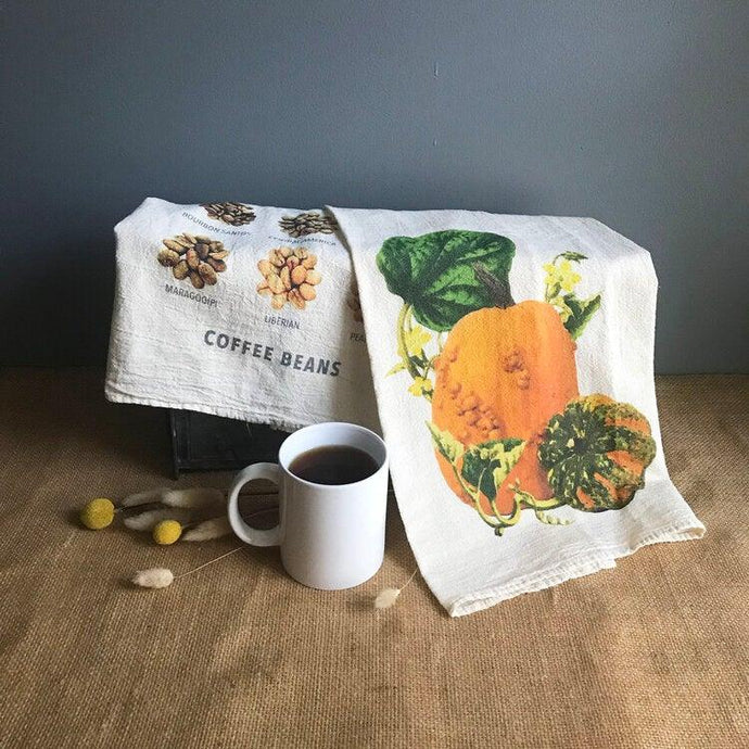 Pumpkin Flour Sack Towel
