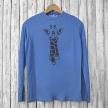 Giraffe Long Sleeve T-shirts for Men Uni-T