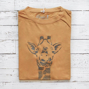 GIRAFFE T-shirt | Unique T-shirts | Urban Clothing | Bamboo T-shirts | Uni-T