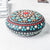 Large Hand Painted Mandala Stone - Multi Color Uni-T