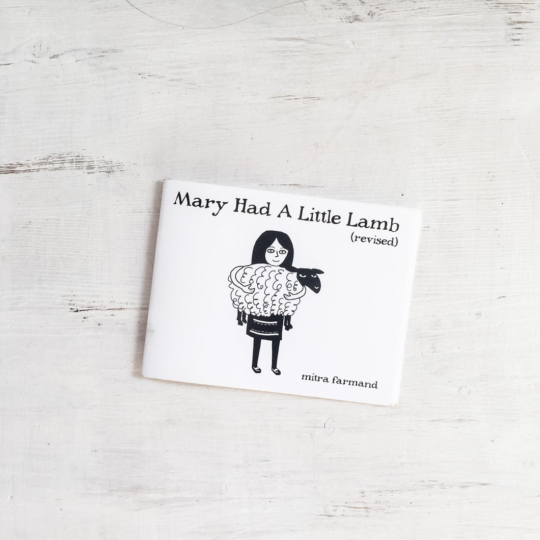 Mary Had A Little Lamb Book for Grown Ups Uni-T
