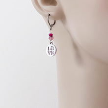 Dog Lover's Gift, Surgical Steel Charm Earrings - Love with a Paw Uni-T