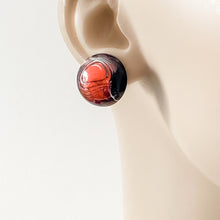 Vintage Lucite Stud Earrings Uni-T Earrings
