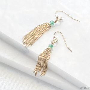 Vintage Inspired Tassel Earrings Uni-T