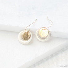 Enamel Rings and Dot Earrings Uni-T