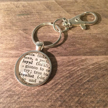 Keychains with Vintage Dictionary Entries Uni-T