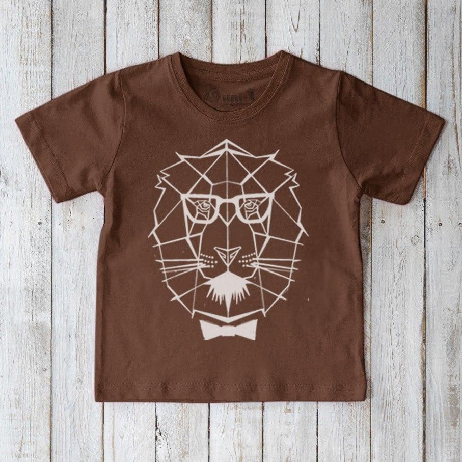 Lion T-shirt for Kids Uni-T
