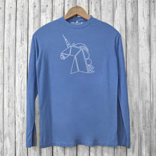 Unicorn Long Sleeve T-shirts for Men Uni-T
