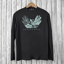 Create More, Long Sleeve T-shirts for Men Uni-T