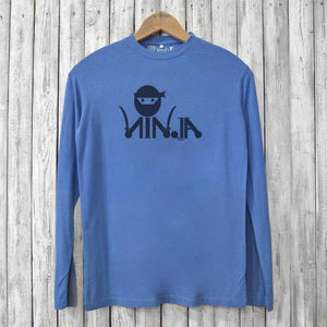 Ninja Long Sleeve T-shirts for Men Uni-T