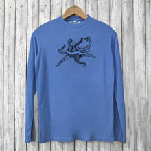 Octopus Long Sleeve T-shirts for Men Uni-T