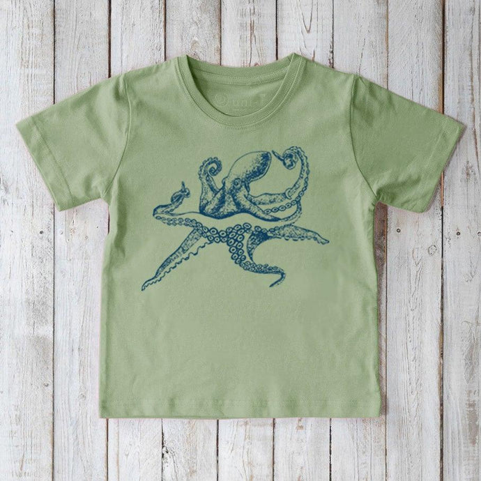 Octopus T-shirt for Kids Uni-T