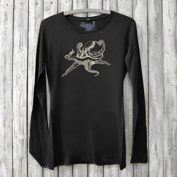 Octopus Long Sleeve T-shirt for Women