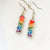 Rainbow Crystal Earrings Uni-T Earrings