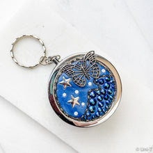 Polymer Clay with Crystals Small Jewelry Box, Pill Box, Key Chain Uni-T Small Gifts