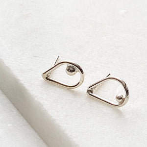 Sterling Silver Stud Earrings Uni-T Earrings
