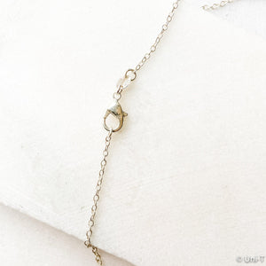 Fine Silver Necklace, Precious Metal Clay Silver with Sterling Silver Chain