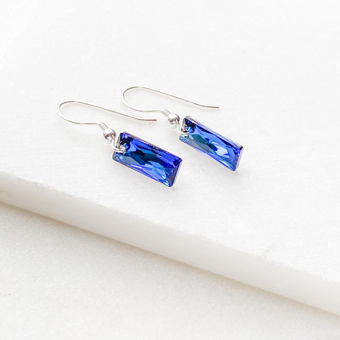 Swarovski Bar Crystal Earrings