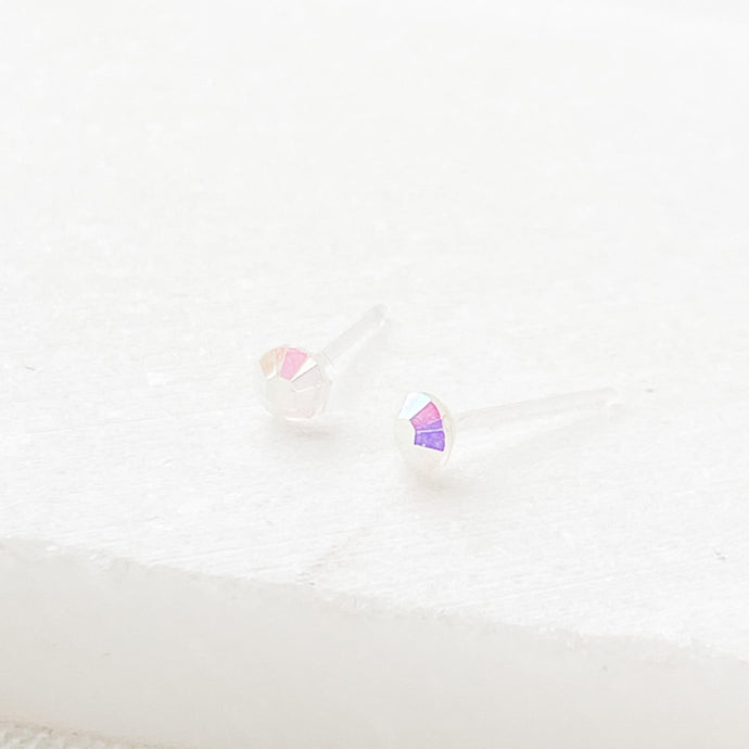 Swarovski Crystal Studs Light