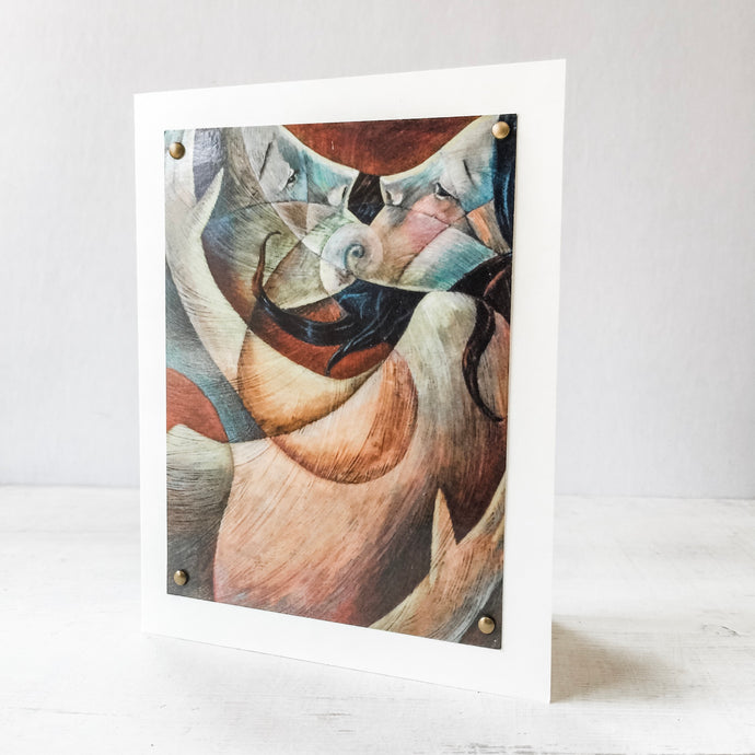The Lovers Greeting Card 5X7 Uni-T