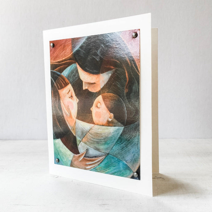Mother & Children Greeting Card 5X7 Uni-T