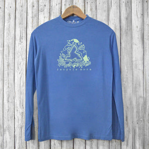 Recycle More, Long Sleeve T-shirts for Men Uni-T