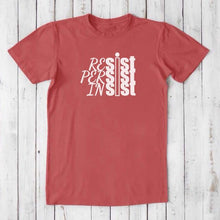 RESIST PERSIST INSIST, Anti Trump Shirt, Persist Shirt, Resist Trump, Men's T-shirt, Organic Tshirt