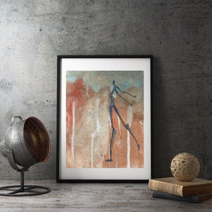 FIELD, Giclee Prints from Original Art Uni-T