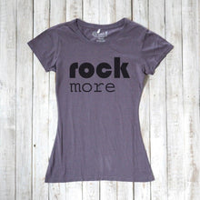 ROCK MORE | Women's Concert T-shirt | Bamboo Clothing | Organic Cotton Tee