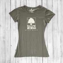 Grow More | Womens Tree T shirt | Bamboo Clothing | Organic Cotton Womens Clothing