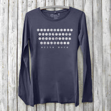 Write More, Long Sleeve T-shirt for Women Uni-T