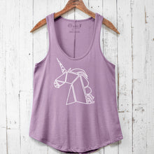 Unicorn Vintage Washed Tank Top - Wish More