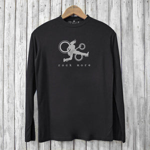 Rock More, Long Sleeve T-shirts for Men Uni-T