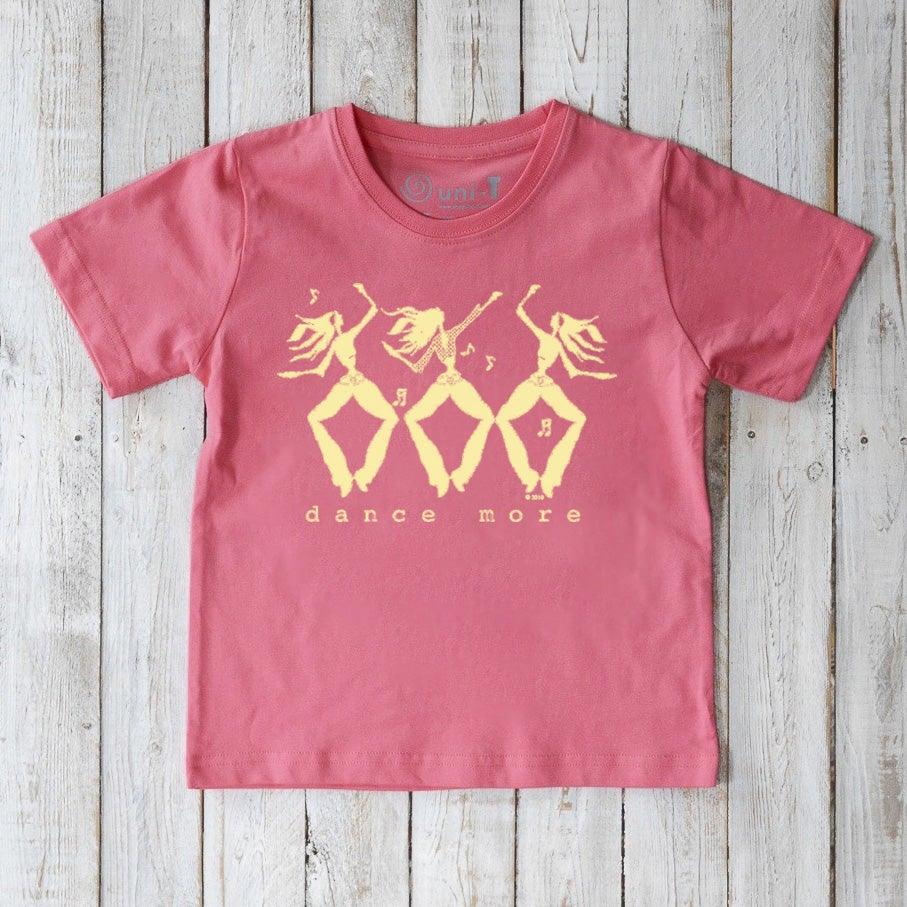 Dance T-shirt for Kids, Dance More Uni-T