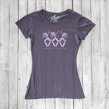 Dance T shirts | Womens Graphic Tee | Fitted Bamboo T-shirt | Organic
