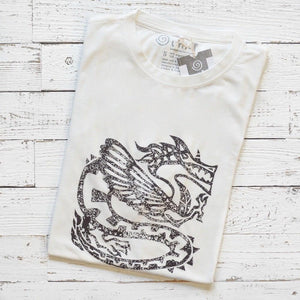 Unique T-shirt Design | DRAGON T-shirt | Eco friendly Clothing