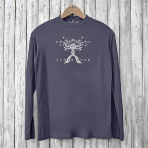 Dream More Long Sleeve T-shirts for Men Uni-T
