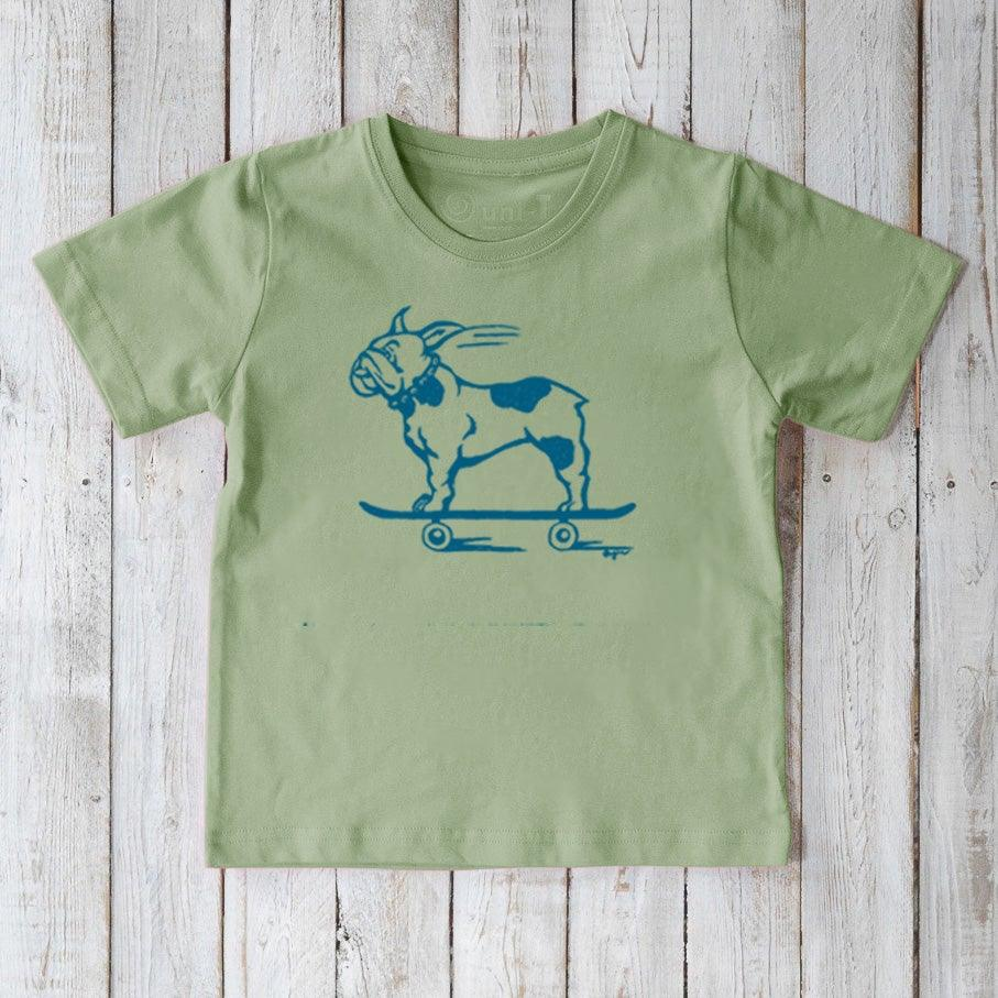 French Bulldog T-shirt for Kids Uni-T