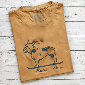 French Bulldog Shirt | T shirts for Men | Skateboard T-shirt | Uni-T