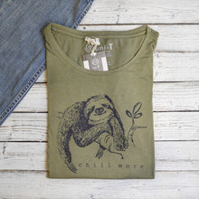 Sloth T shirt | Funny Graphic Tees | Funny Sloth Shirts | Animal Shirts