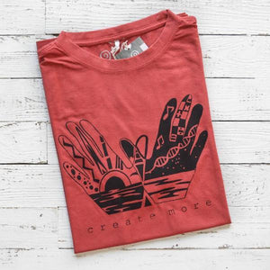 Men's Graphic T shirts | Hand Art T Shirt | Bamboo Organic Tee Shirt | Uni-T