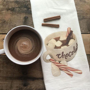 Hot Chocolate Sack Towel