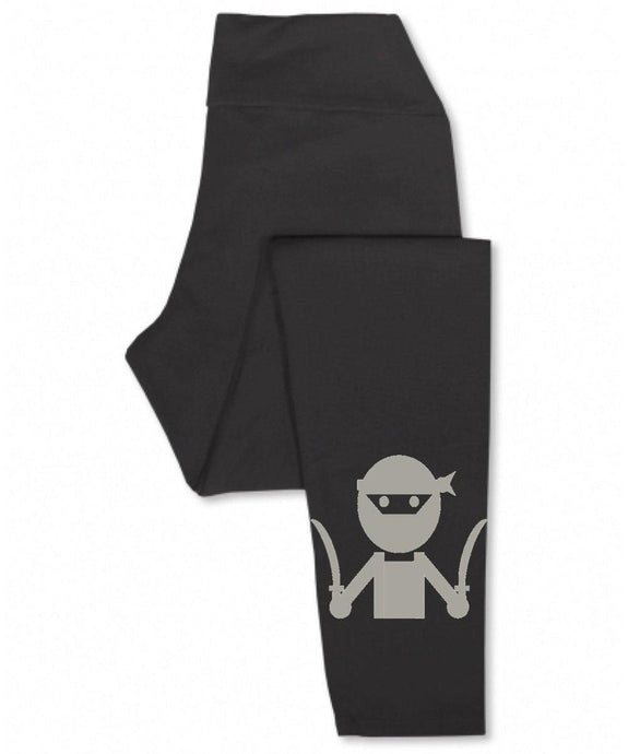 NINJA Printed Yoga Leggings Uni-T