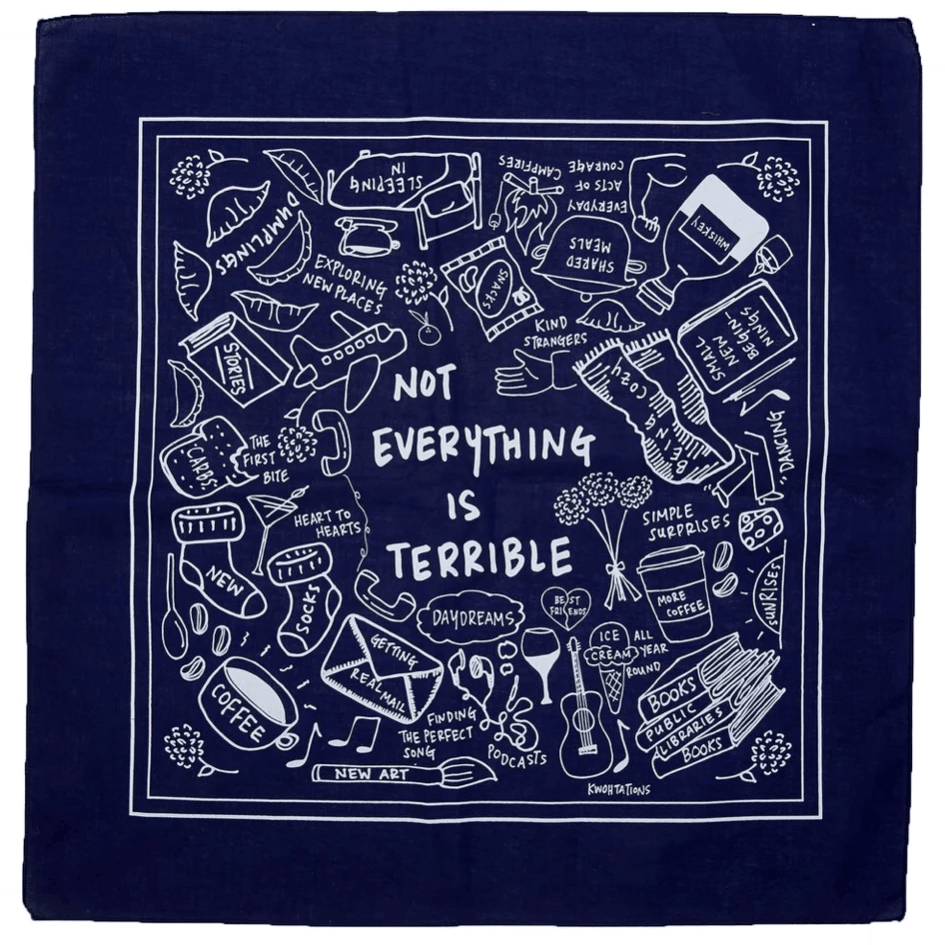 Not Everything Is Terrible Bandana Uni-T