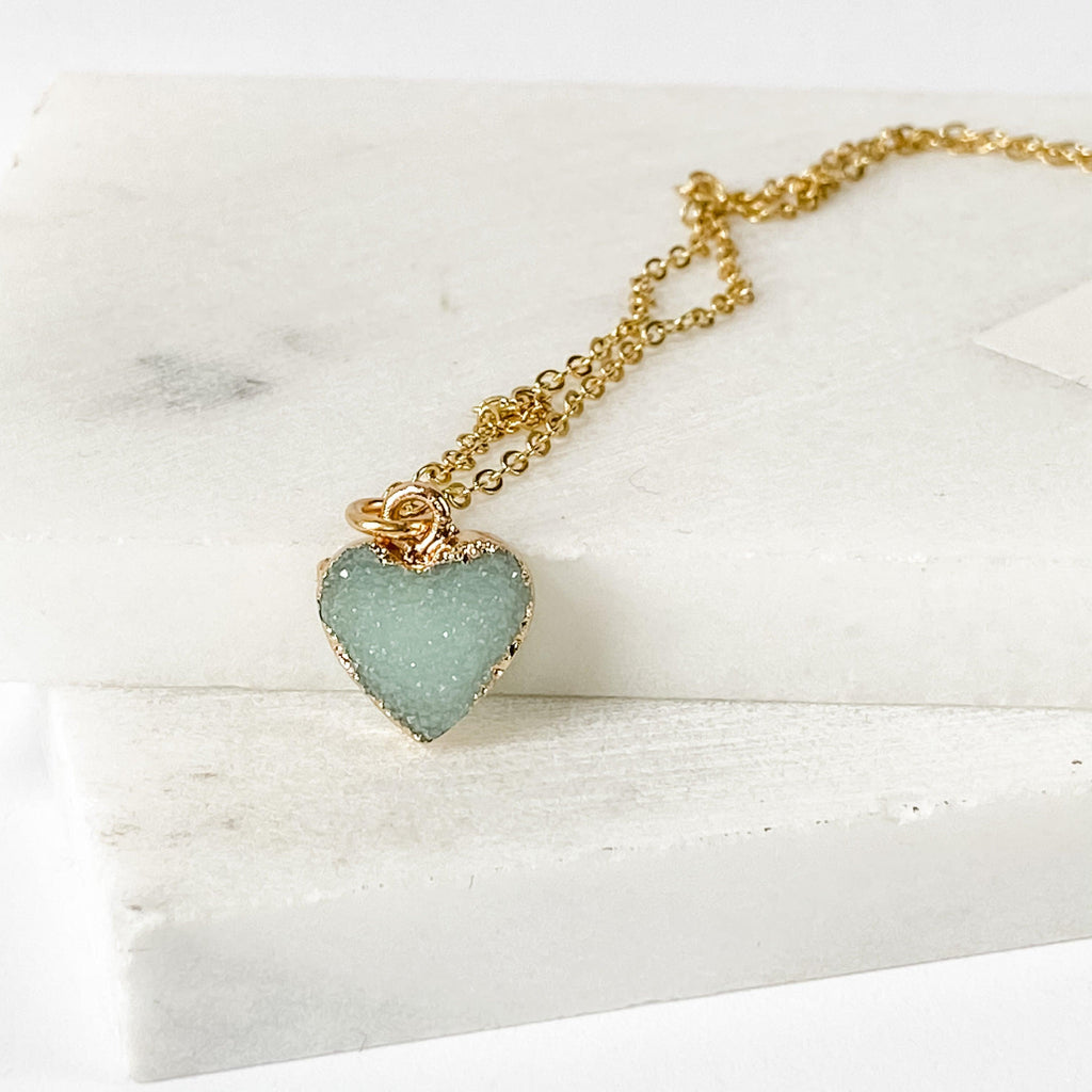 Stone Heart Necklace